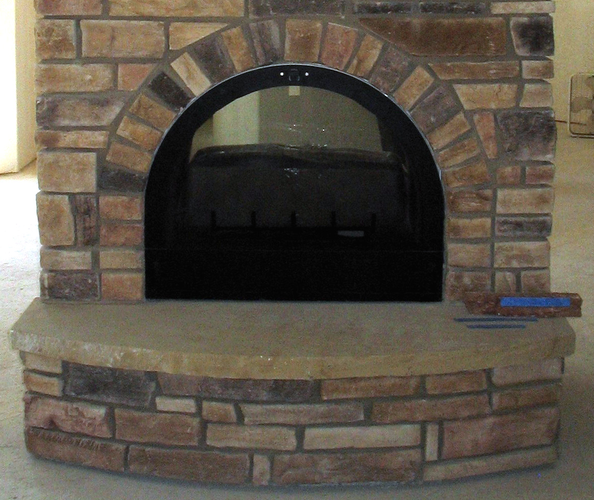 Arched Glass Fireplace Doors arch fireplace | home design inspirations